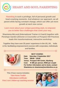 Heart & Soul Parenting Workshop